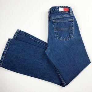 VTG Tommy Hilfiger Medium Wash Bootcut Jeans Sz 7